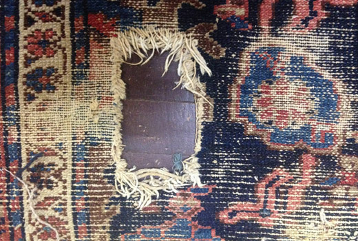 Antique Carpet Repair